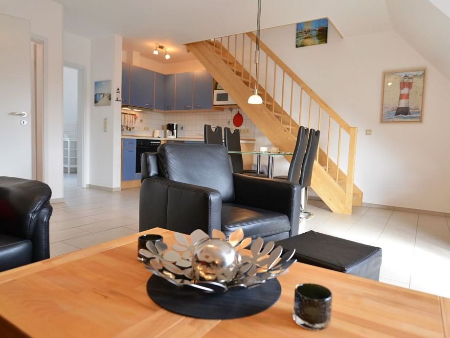 Wohnzimmer mit Küchenzeile und W-lan inklusive