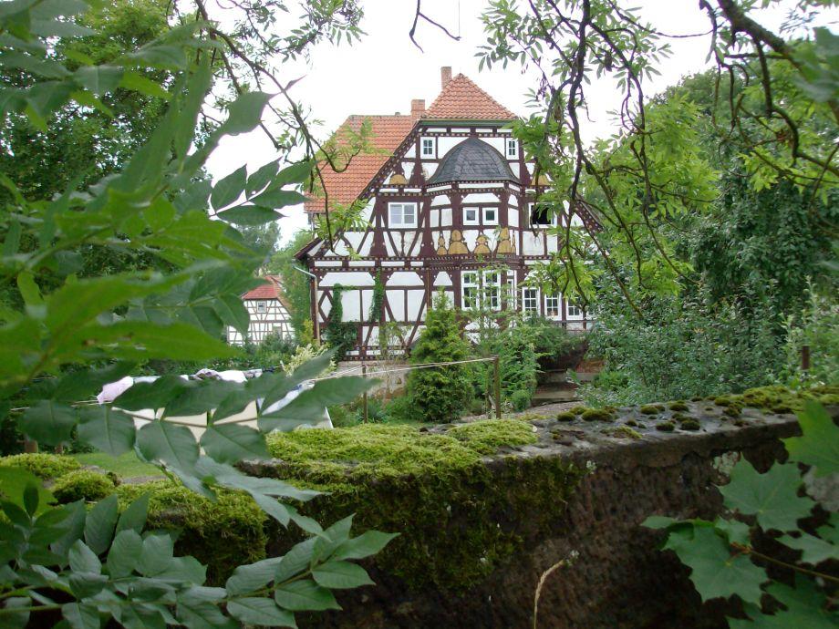 Außenaufnahme 17. century framework house