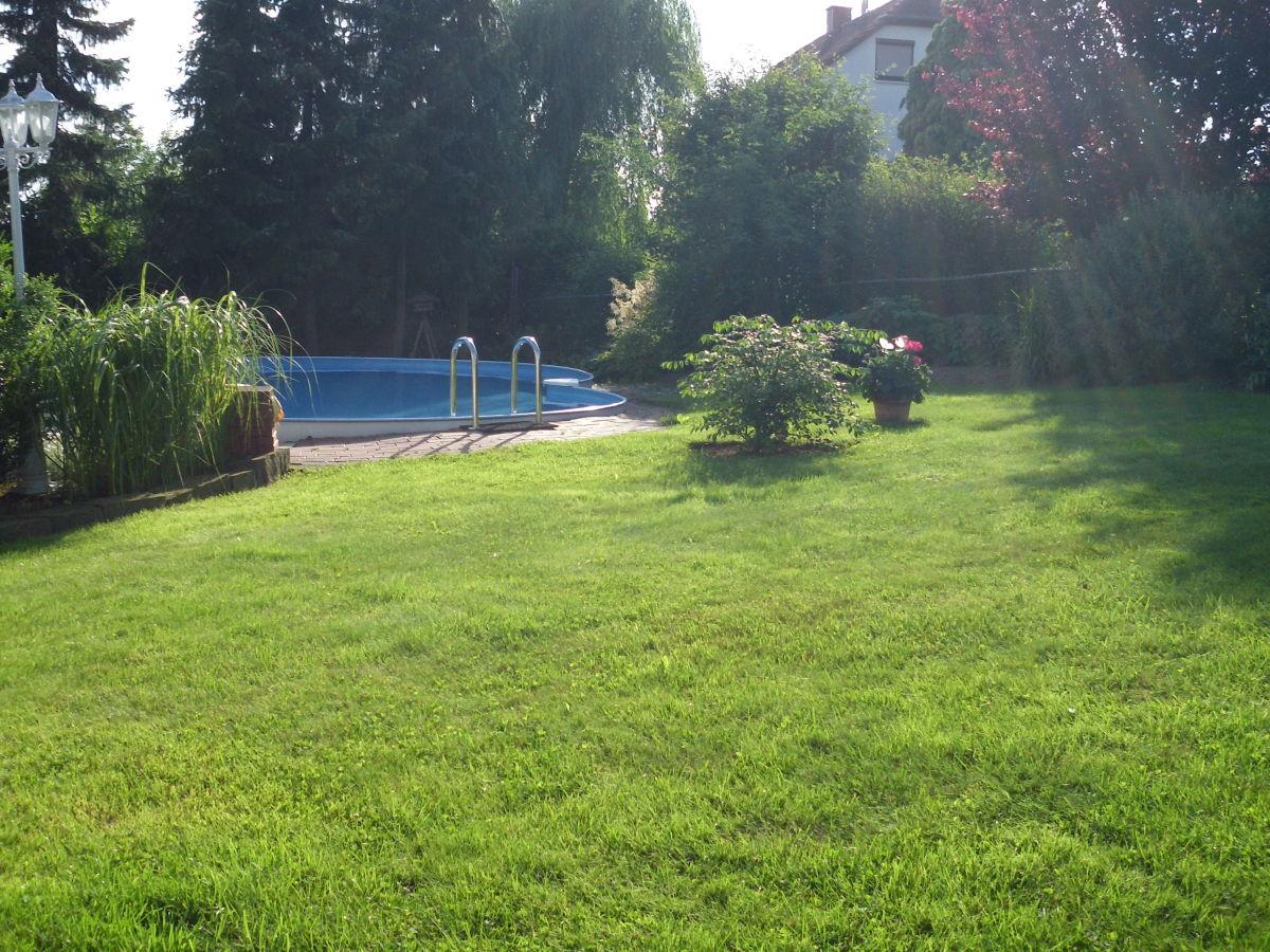 Ferienwohnung k nig niedenstein familie detlev elke k nig for Garten pool wanne