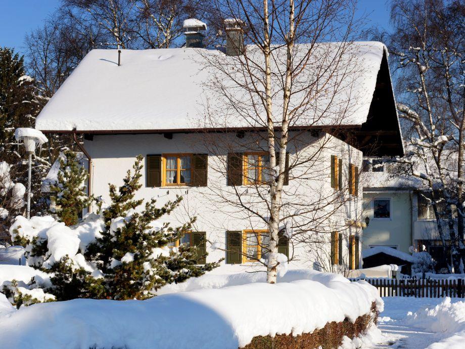 Ferienhaus Führer in Füssen, Winteransicht