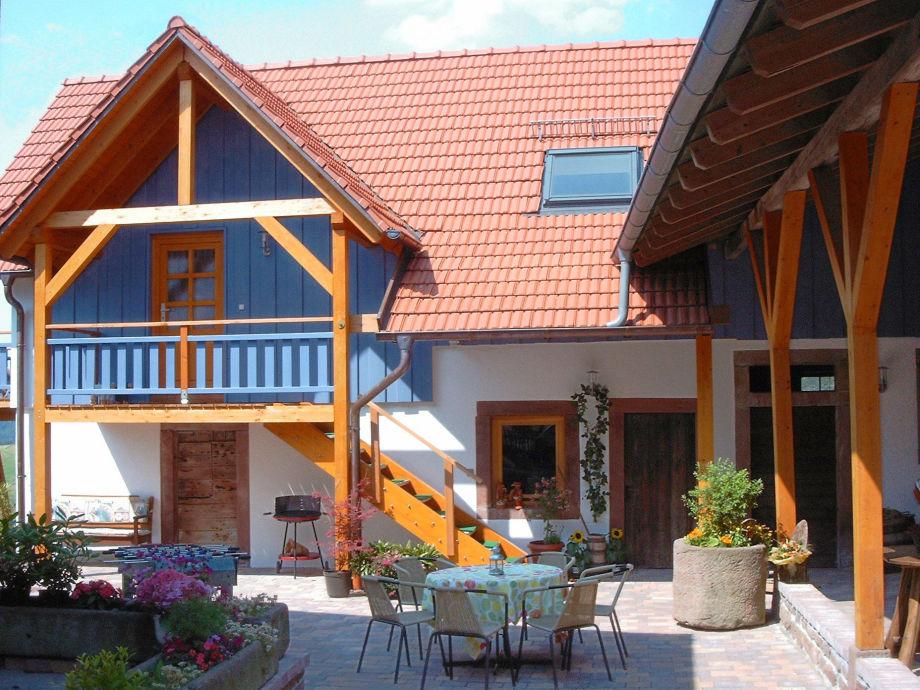 Außenaufnahme Landhaus Rothenberg - ideal für Gruppen