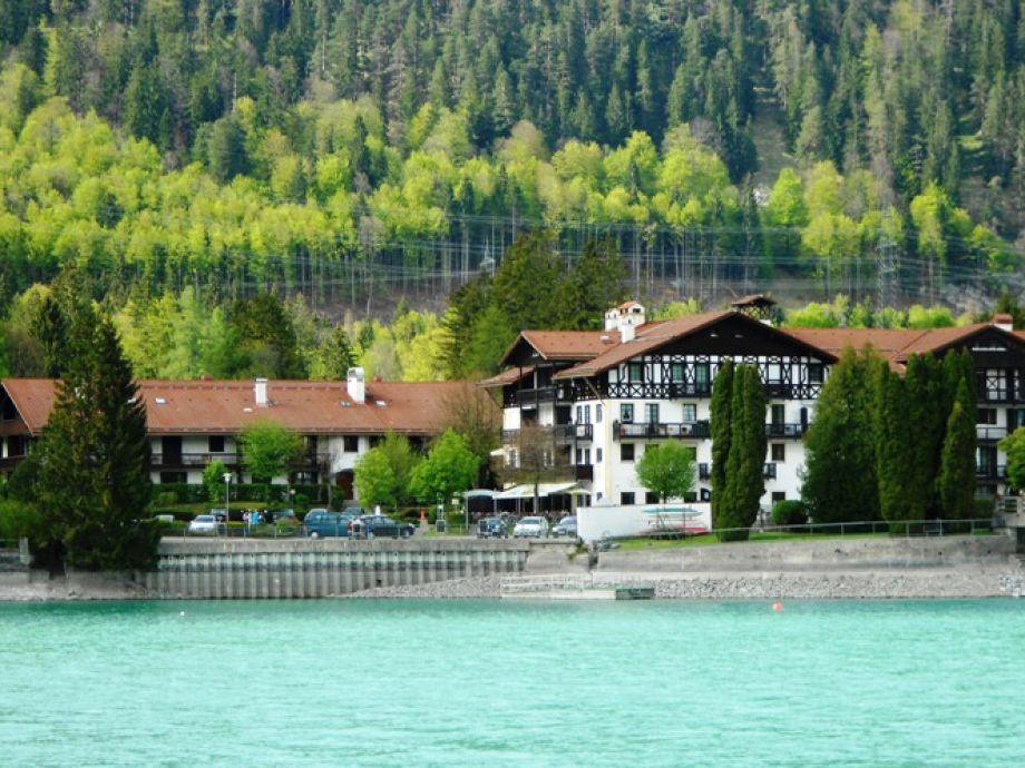 Ferienwohnung in Walchensee im Seehotel zur Post