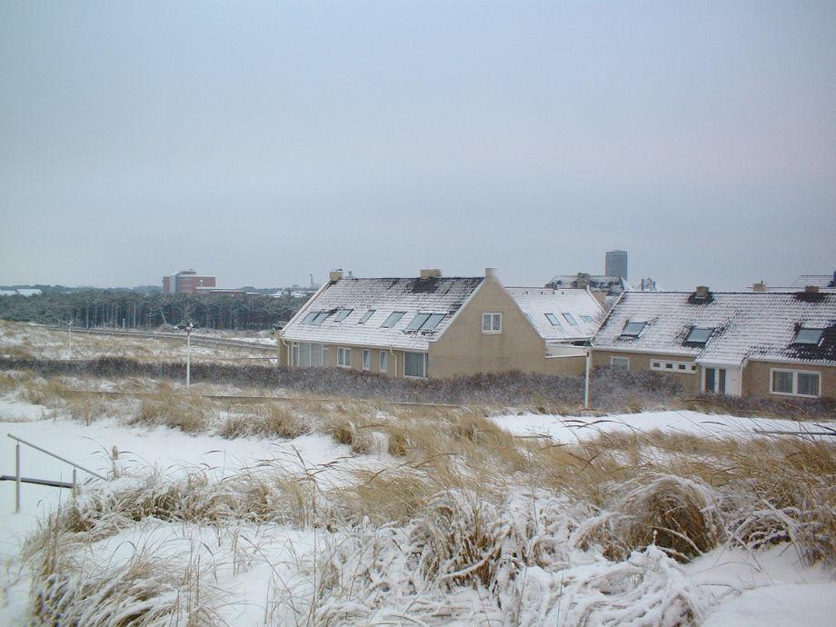 Haus Kanngießer im Winter