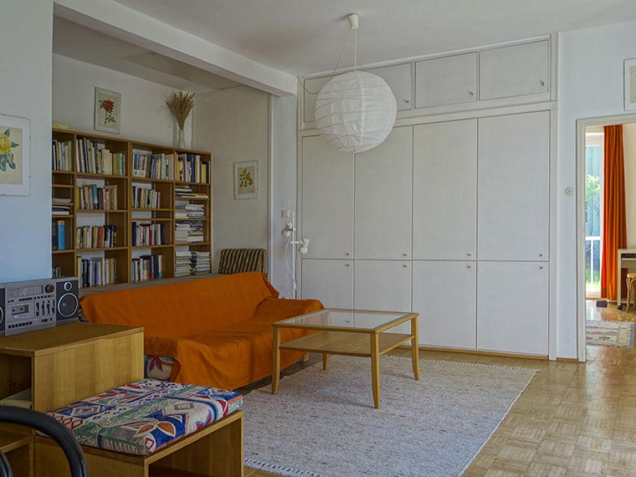 Ferienwohnung bramhas scholz wien familie bramhas - Bibliothek wohnzimmer ...