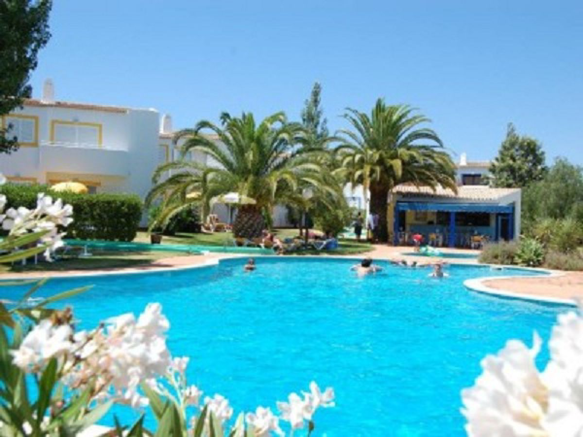 Holiday apartment jardim do paraiso algarve portugal ms buse - Swimming pool area ...