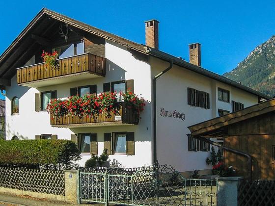 Ferienwohnung Zugspitzblick im Haus Georg Garmisch