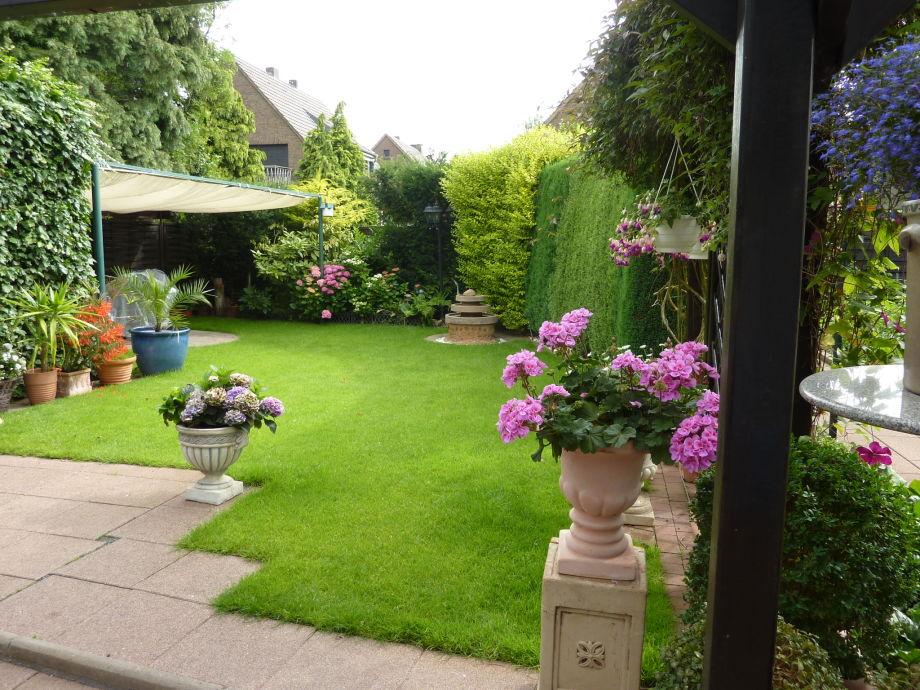 Zur Ferienwohnung zugehöriger Garten