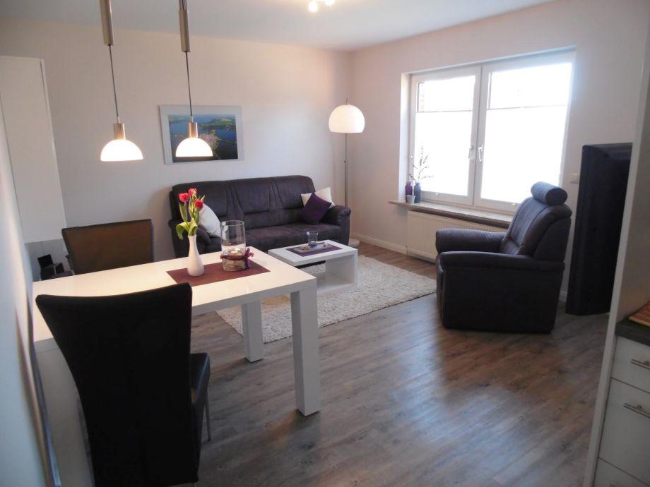 Essecke mit Wohnzimmer