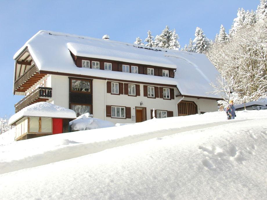 Heuberghof im Winter