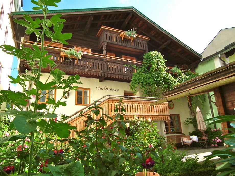 Das Baderhaus - im romantischen Hof