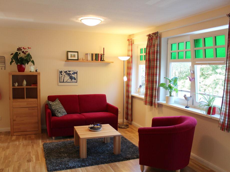 Wohnzimmer in FeWo Kastanienbaum