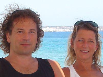 Ihr Gastgeber Han Muelink und Frau Helma Druijven