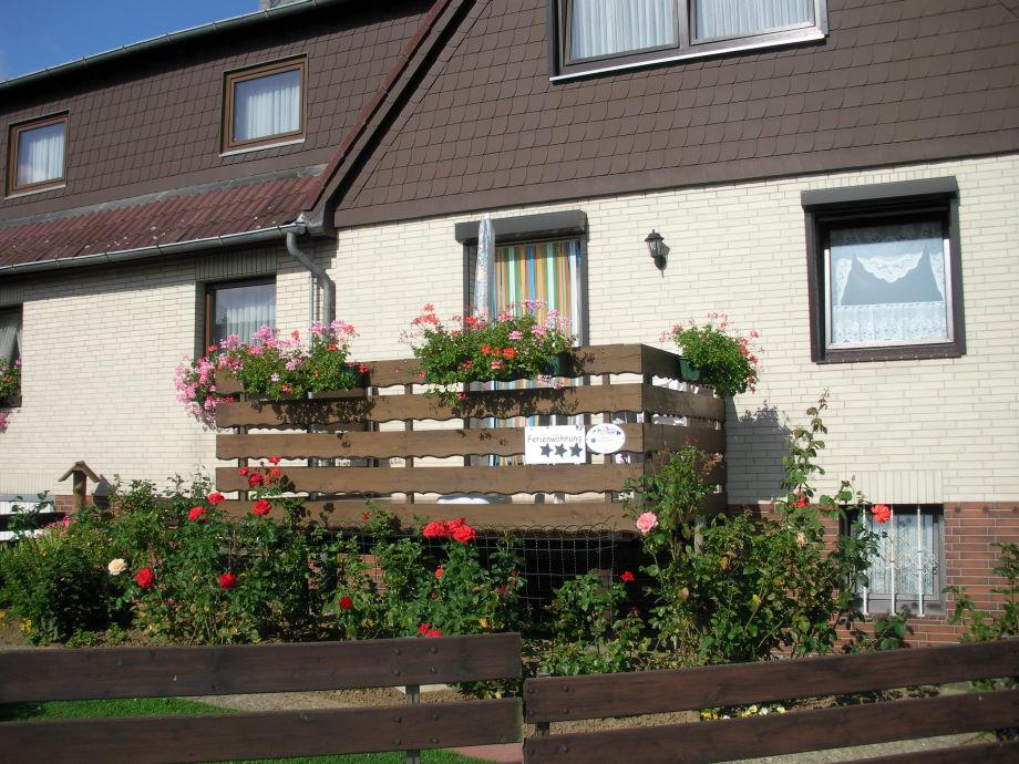 Ferienhaus Heidemarie - Straßenansicht