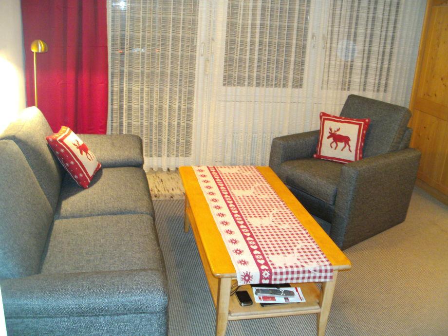 wohnzimmerlampen poco:umbau küche ins wohnzimmer : Ferienwohnung Rubihorn mit Hallenbad