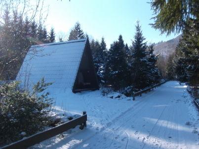 """Nurdachferienhaus / Finnhütte """"Erika"""""""