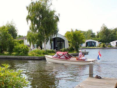 Aquaronde freistehendes Traumhaus auf Halbinsel - Bootsvermietung