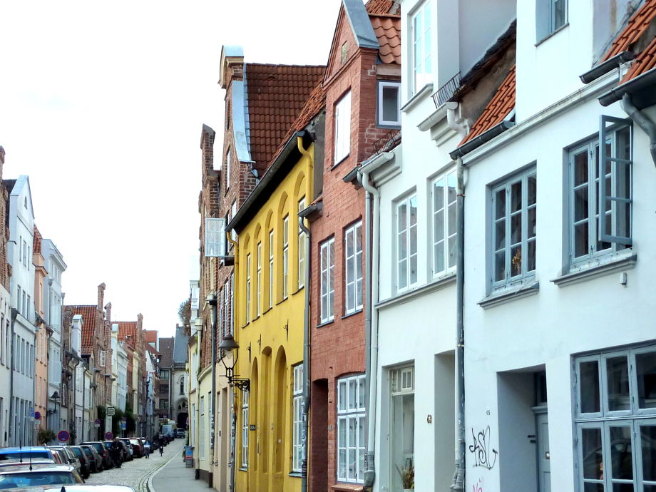 Die Hundestraße in der Lübecker Altstadt
