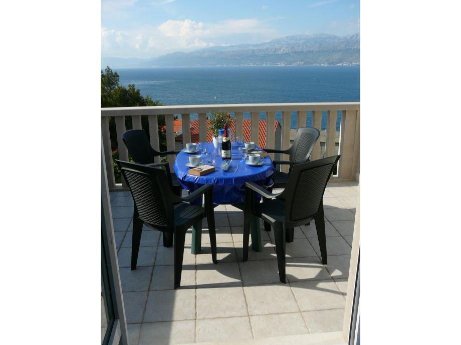 Liljana balcony view to the sea