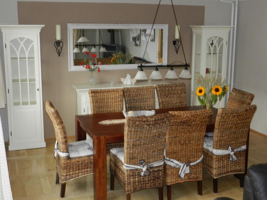 Gemütliche Essecke Wohnzimmer