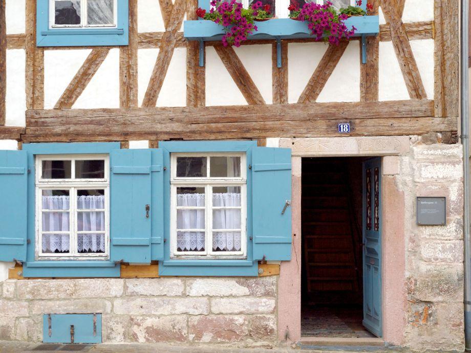 Ferienhaus historisches Gerberhaus - Willkommen!