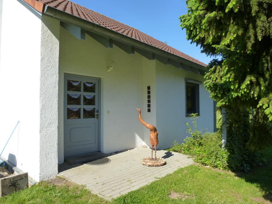 Eingangsbereich Haus BIrkengrün