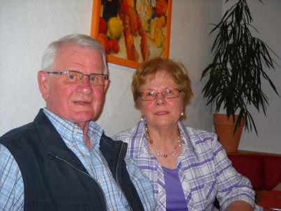 Ihr Gastgeber Rosel und Eberhard Kern