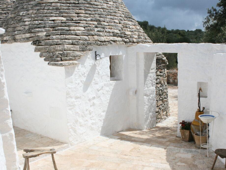 Trullo Specchia - Ferienhaus in Apulien