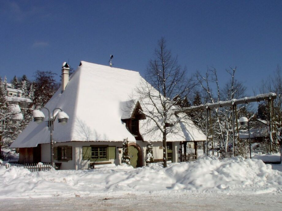 Die Mühle im Schnee