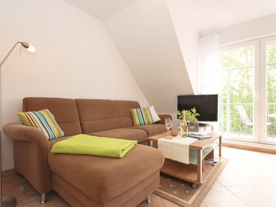 Couchbereich mit TV