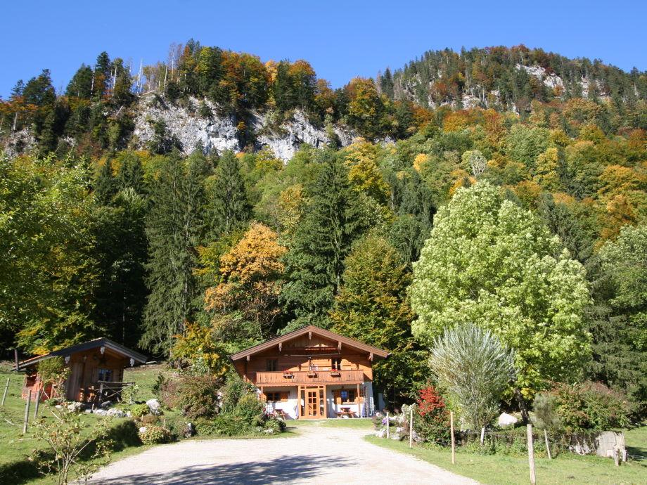 Herbst Haus Waldwinkel