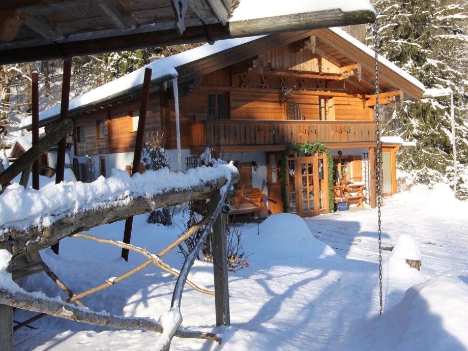 Haus Waldwinkel im Winter