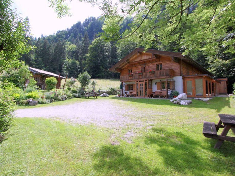 Außenaufnahme Schossbach im Haus Waldwinkel
