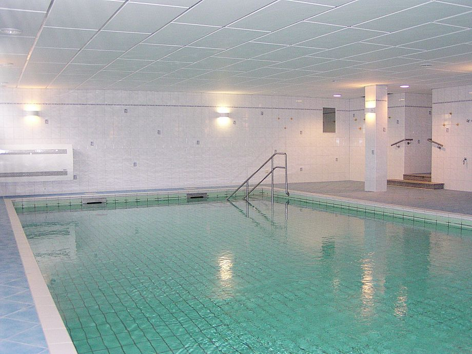 In-house swimming pool in the wellness area (free)