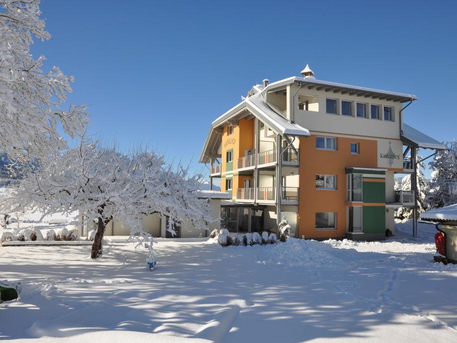 Ferienwohnungen Karglhof Stammhaus - im Winter