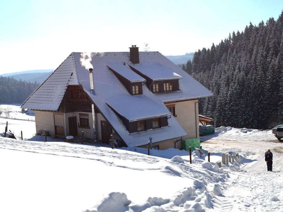 Unser Kleinklausenhof im Winter