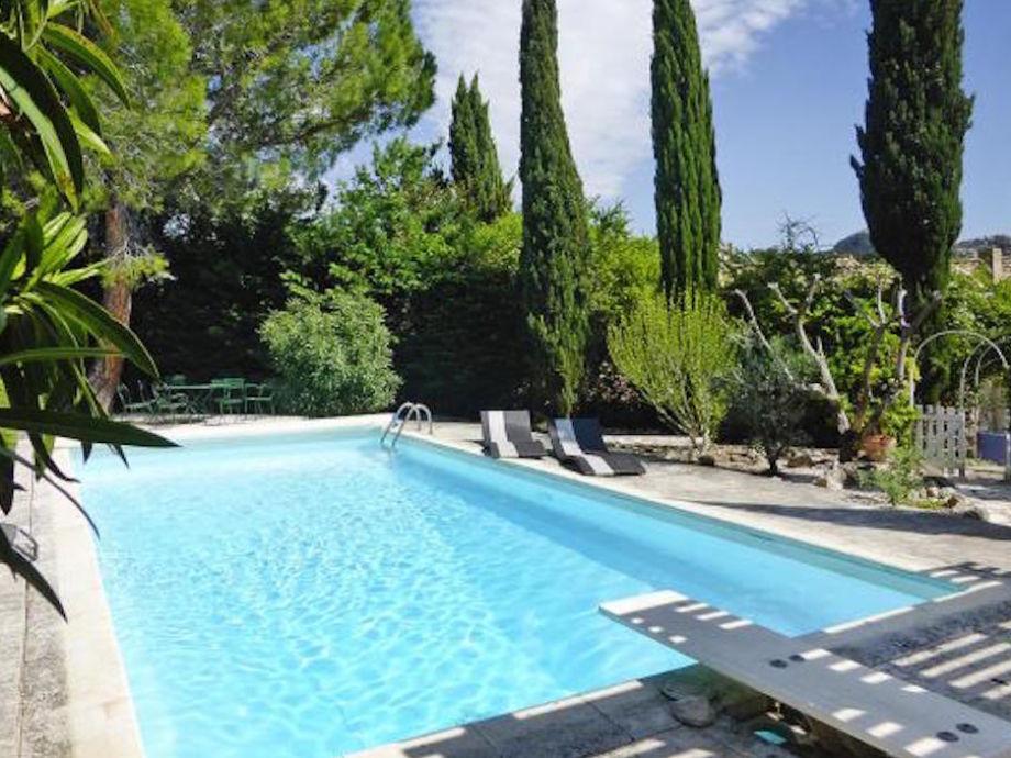 Schwimmbad und Garten