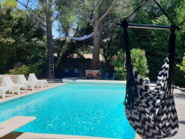 Ferienhaus Mas de L' Embeli mit Pool