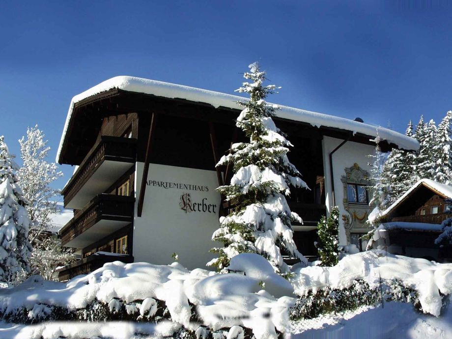 Haus Kerber im Winter