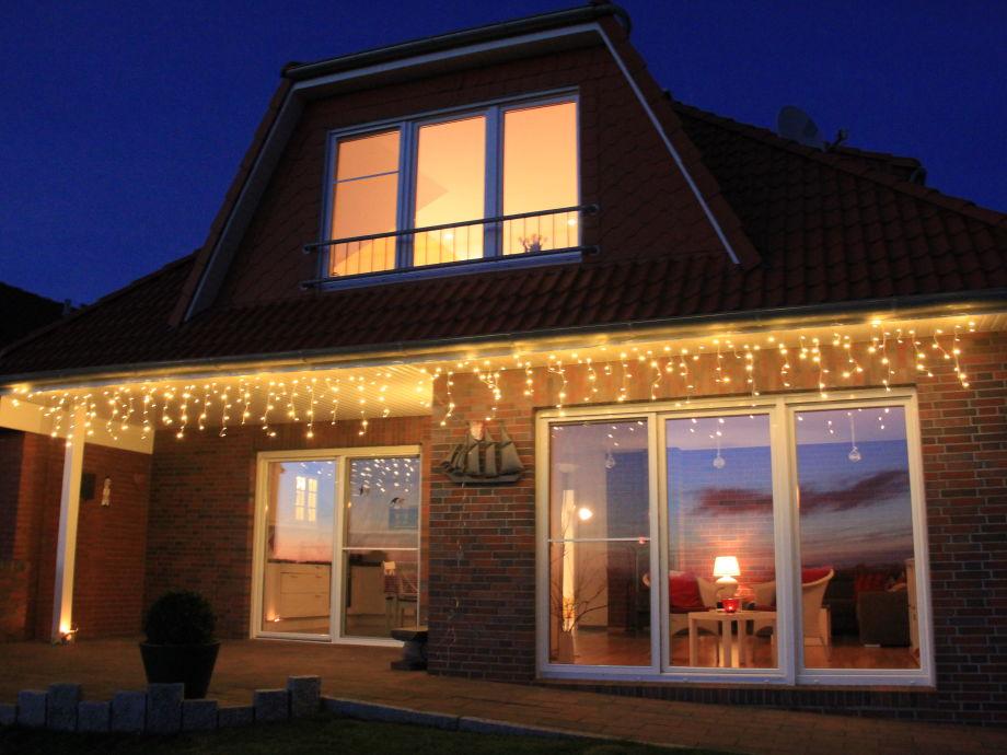 Unser Nordsee-Ferienhaus in Adventsstimmung