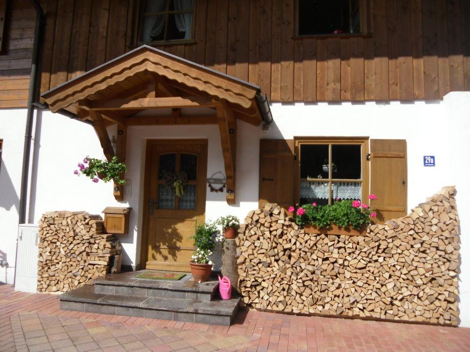 Eingangsbereich der Ferienwohnung Hollacher
