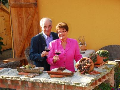 Ihr Gastgeber Gerdi Staiblin