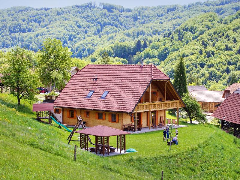 Ferienwohnung Blau auf dem Bauernhof Pirc