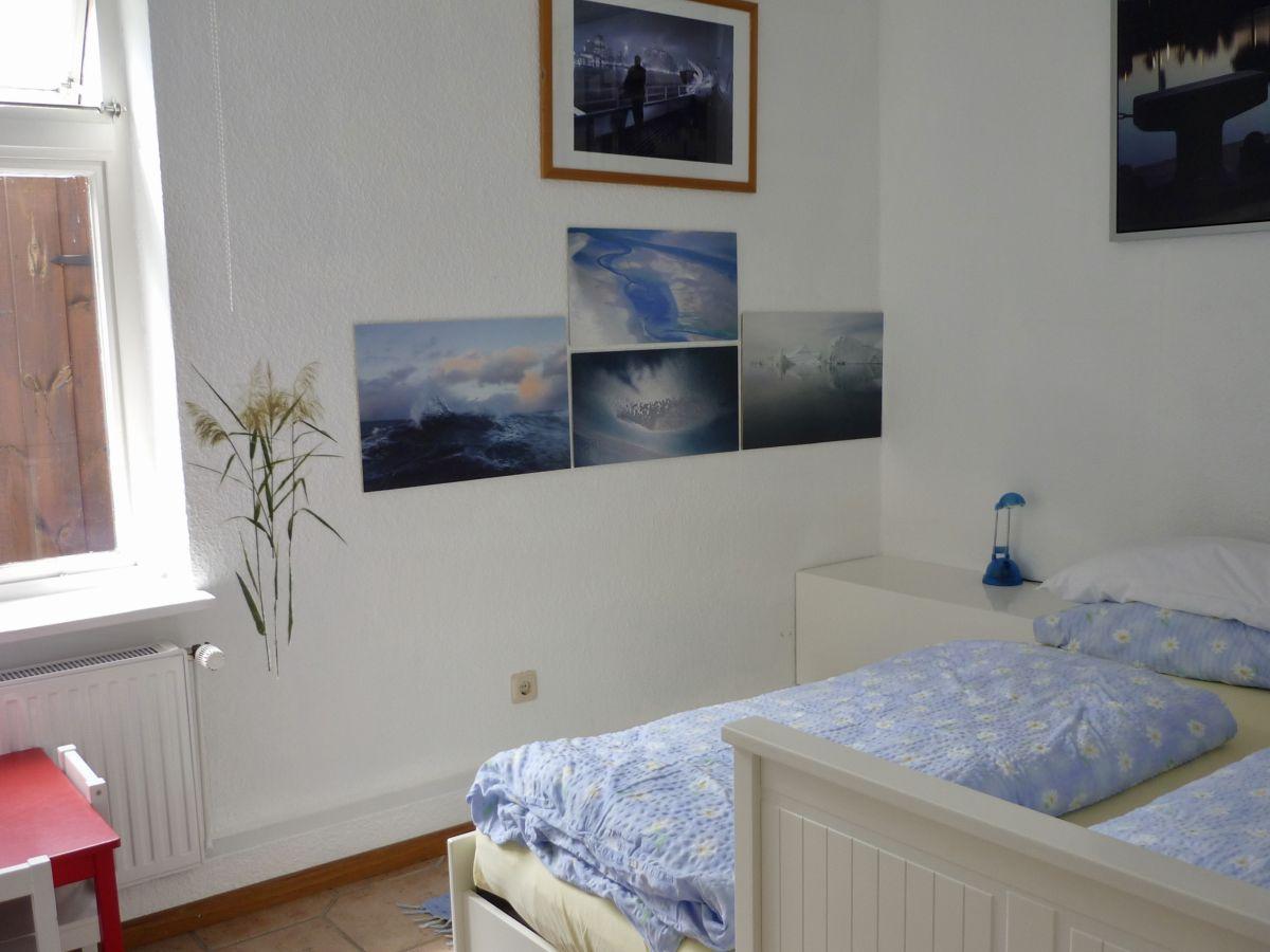 Ferienwohnung watt 39 n blick lotsenwohnung mit fa sauna - Panoramabild schlafzimmer ...