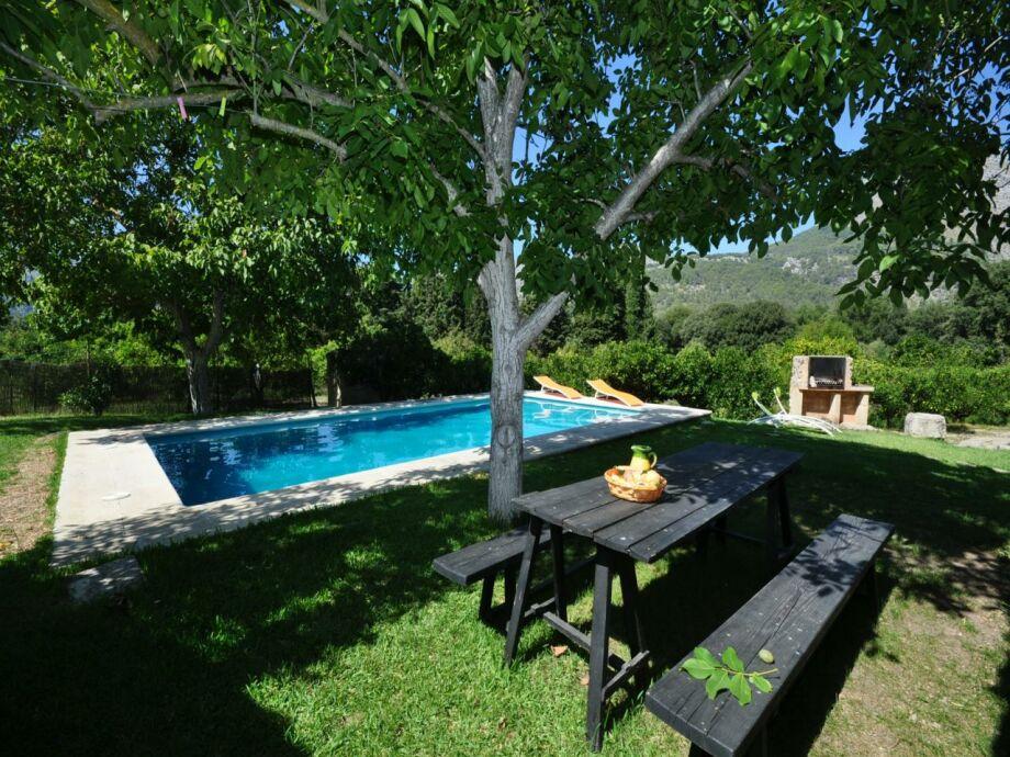 Pool und Gartenansicht