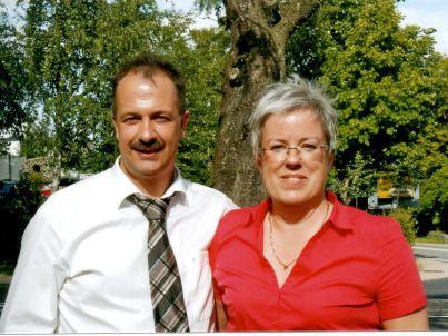 Ihr Gastgeber Brigitte und Raimund Völl