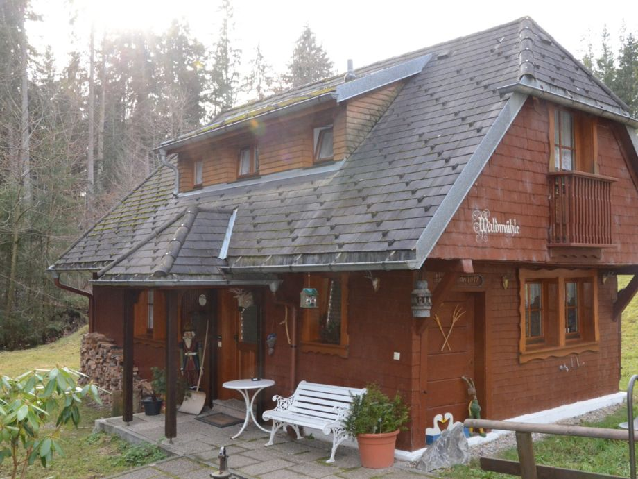 "Außenaufnahme ""Forestmill"" at residential park Weiherhof at lake Titisee"