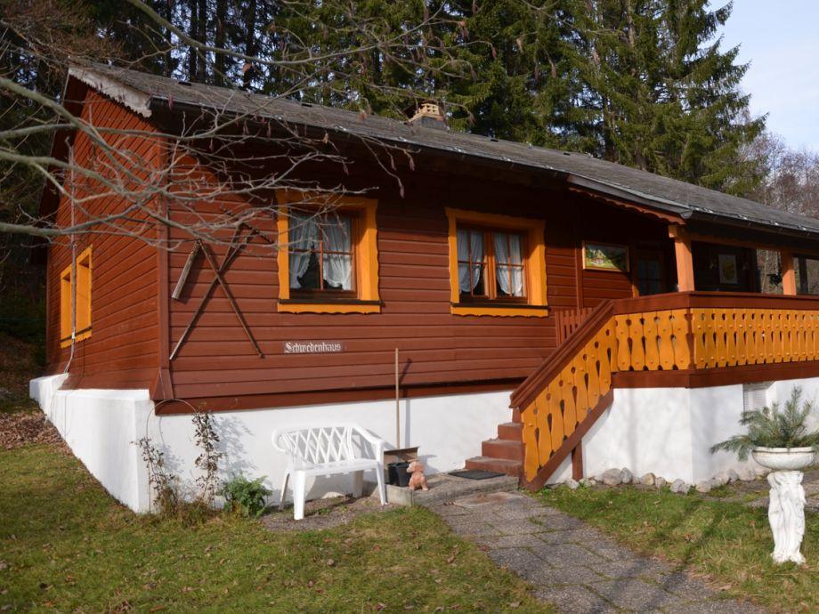 Außenaufnahme Schwedenhaus at residential park Weiherhof at lake Titisee