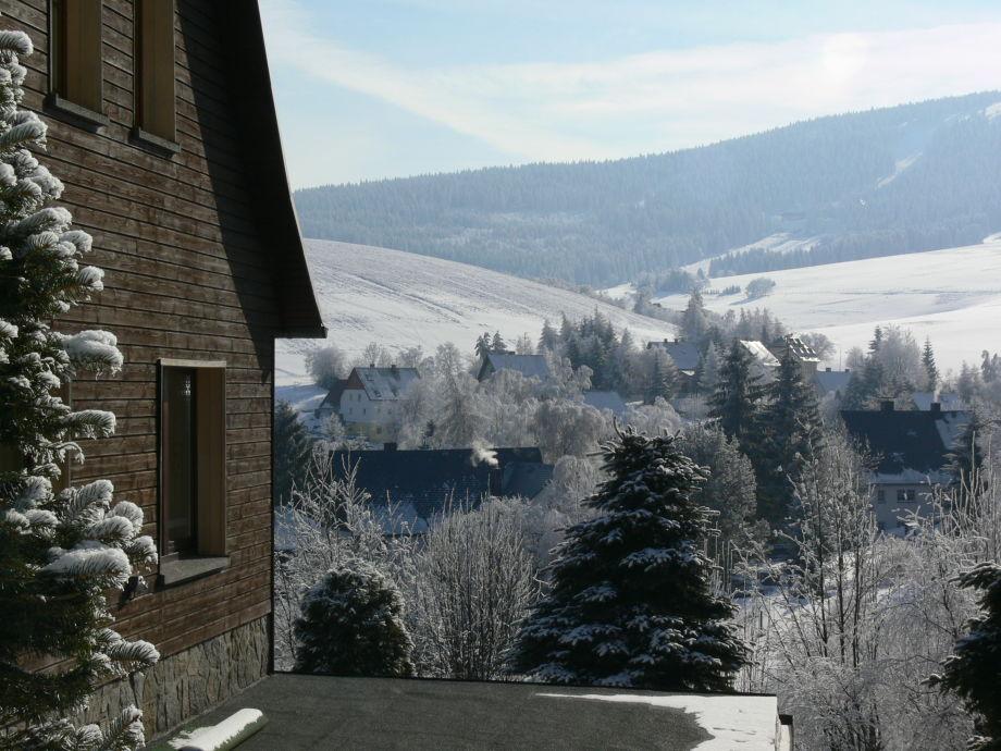 Ausblick vom Haus