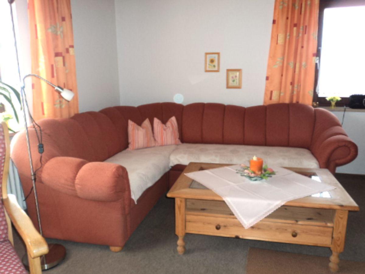 sitzecke wohnzimmer : Ferienwohnung Am H Ttenweg Bodenmais Bayerischer Wald Frau