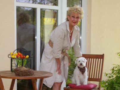 Your host Barbara Mann